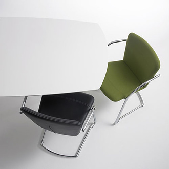 Flemming Busk and Stephan Hertzog Land Cantilever Chair