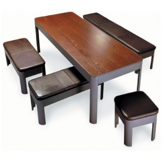 Uli Schmid and Christian Olufemi Coffee Table - Bench