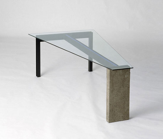Jonas Bohlin Concrete Desk