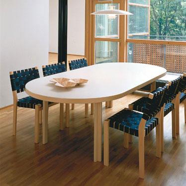 alvar aalto extension table h98. Black Bedroom Furniture Sets. Home Design Ideas
