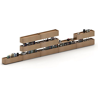 Koray Malhan Rarum Shelving