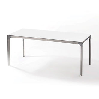 Xi Zhang and Erich Diserens White Table