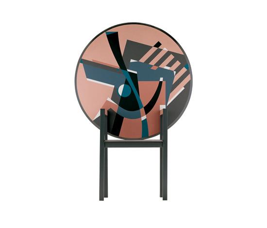 Alessandro Mendini Zabro Table Chair