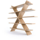 Richard Shemtov Snowflake Shelving Unit