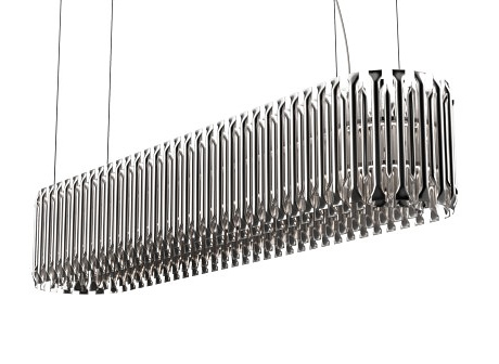 Delightfull Matheny Suspension Lamp Square Rounded
