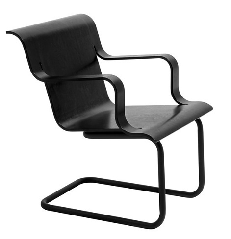 Alvar aalto 26 cantilever easy chair for Aalto chaise lounge