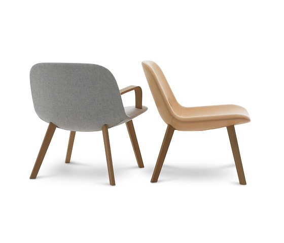 Johannes Foersom and Peter Hiort-Lorenzen Eyes Lounge Chair and Table