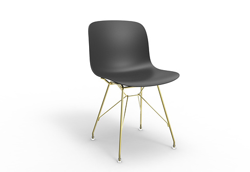 Marcel Wanders Troy Chair With Metal Legs