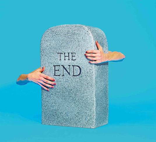 Maurizio Cattelan and Pierpaolo Ferrari The End Stool