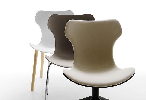 Naoto Fukasawa Papilio Shell Chair With X-base
