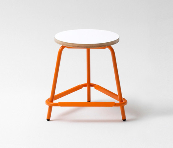 Raumfieber T22 Desk,  S48 Stool and S82 Bar Stool