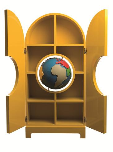 Studio Job Globe Storage Unit