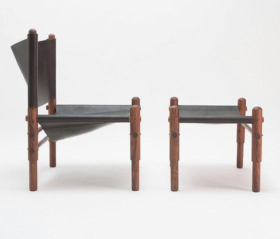 Workstead Sling Walnut Chair