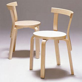 Alvar Aalto Chair 68