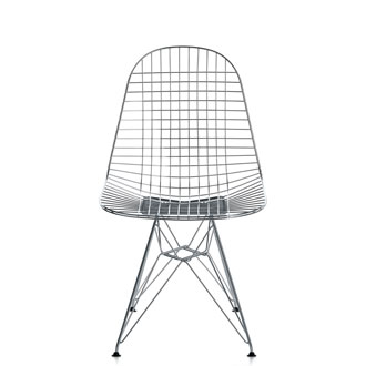 Charles and  Ray Eames Wire Chair on training room furniture