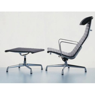 Charles and Ray Eames Aluminium Group EA 124/EA 125 Chairs