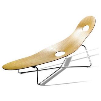 Josef hoffmann kubus armchair for Chaise longue 200 cm