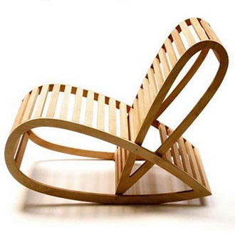 David Trubridge Rocking Chair