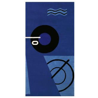 Eileen Gray Blue Marine Rug