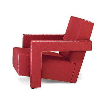 Gerrit T. Rietveld Utrecht Sofa and Armchair