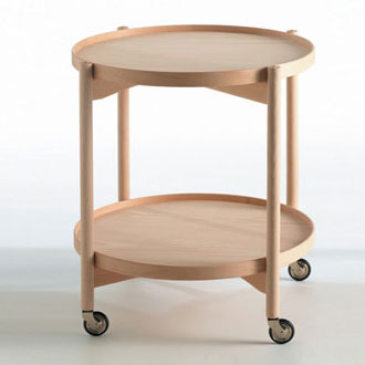 Hans Sandgren Jakobsen Caster Table