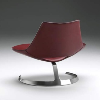 Jørgen Kastholm and Preben Fabricius Scimitar Chair