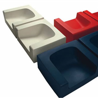 Jean-Marie Massaud Ice Babe Seating Collection