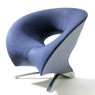 Johan Verde Fora Loop Chair