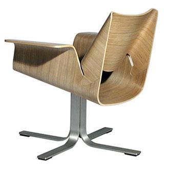 John Christakos, Maurice Blanks and Charles Lazor Buttercup Chair