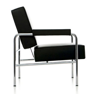 Le Corbusier LC13 Wagon Fumoir Armchair