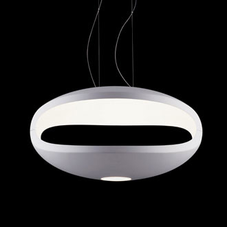 Luca Nichetto and Giampietro Gai O-Space Suspension Lamp
