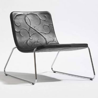 Stefan Borselius and Fredrik Mattson Snooze Lounge Chair