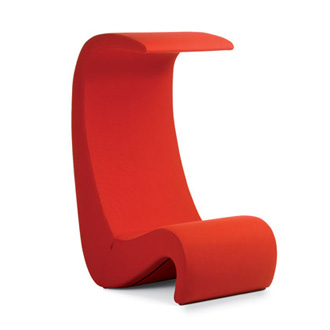 Verner Panton Amoebe Highback Chair