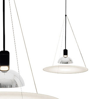 Achille Castiglioni Frisbi Lamp