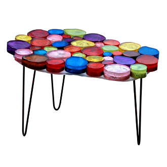 Alain Marzat Gueridon Nuage Table