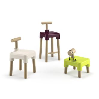 Alberto Fabbian Wood-stock Chair