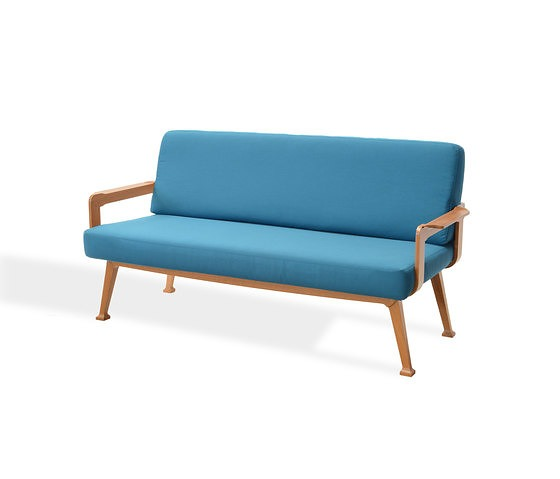 Alberto Salvati and Ambrogio Tresoldi Teakwood Sofa