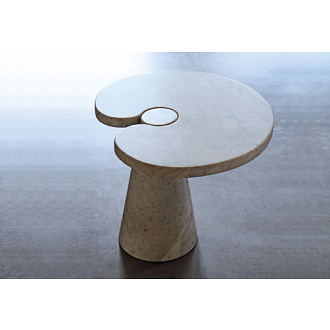 Angelo Mangiarotti Eros Column Table Small