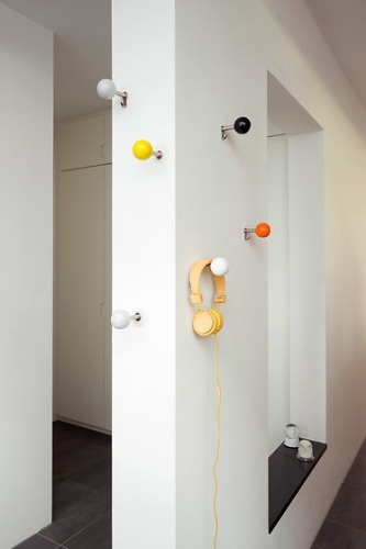 Apartment 8 Dots Coat Hooks