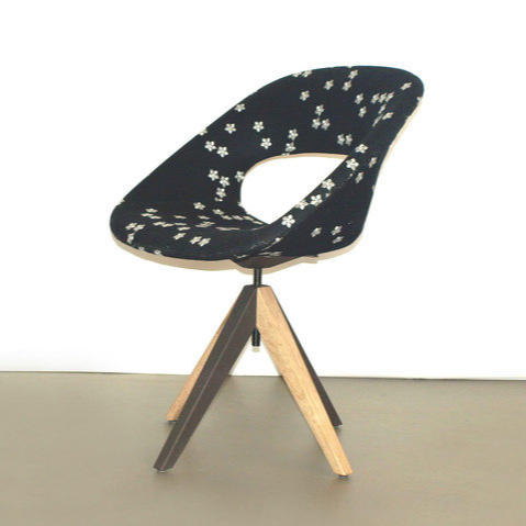 Arend Jan Hovestadt Diagonal Cross Legs Chair
