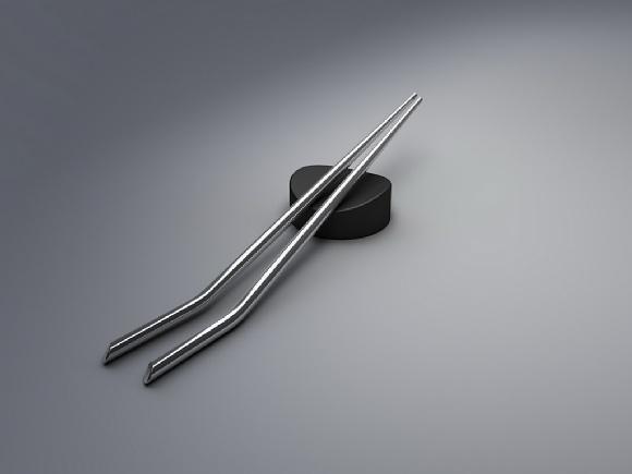 Aurélien Barbry Angle Chopsticks Steel