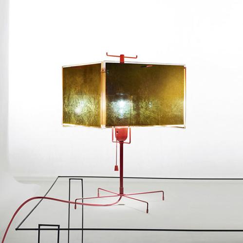 Axel Schmid 24 Karat Blau Lamp