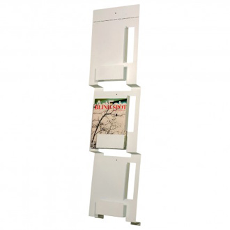 Blu Dot 2d-3d Wall Magazine Rack