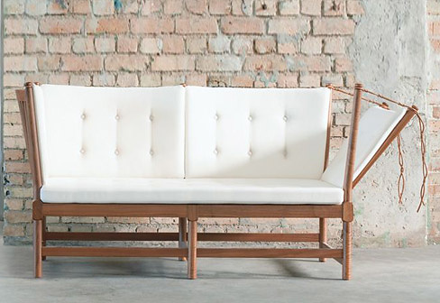 Børge Mogensen Spoke-back Sofa