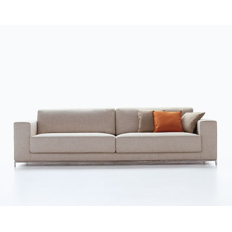 Bruno Fattorini Edgar II Sofa and Armchair
