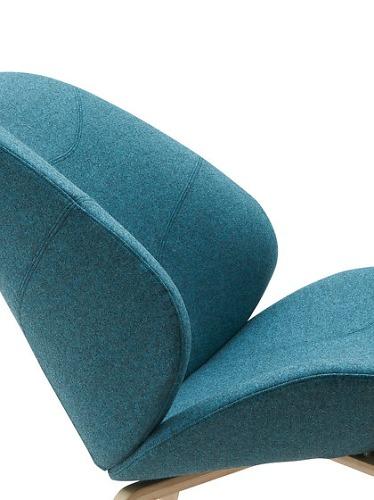 busk & hertzog Eden Lounge Chair