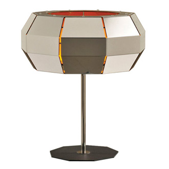 Carlo Zerbaro and Alessandro Trentin Cristal Table Lamp