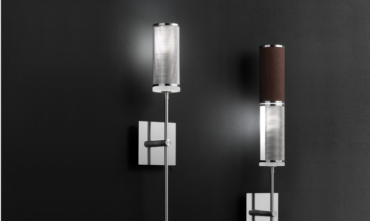 Carlo Zerbaro And Alessio Bassan Luna Single Amp Double Wall Lamp
