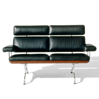 Charles Eames and Ray Eames Eames Sofa