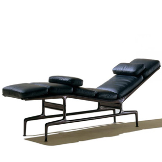 Charles Eames and Ray Eames Eames Chaise